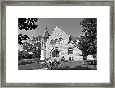 Carleton College Scoville Hall Framed Print by University Icons