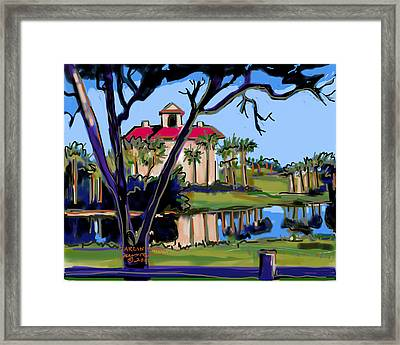 Carlin Park Framed Print