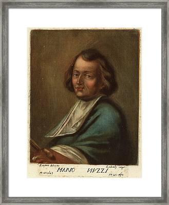 Carlo Lasinio Italian, 1759 - 1838, Mario Nuzzi Framed Print by Quint Lox