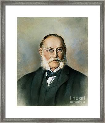 Carlos Juan Finlay Framed Print by Granger