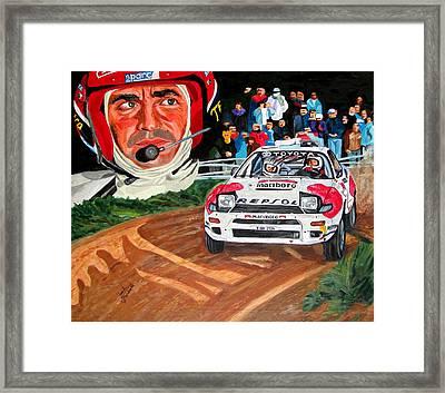 Carlos Sainz Framed Print