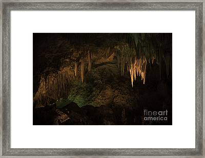 Carlsbad Caverns 1 Framed Print by Richard Mason