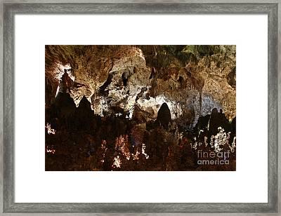 Carlsbad Caverns #2 Framed Print by Kathy McClure