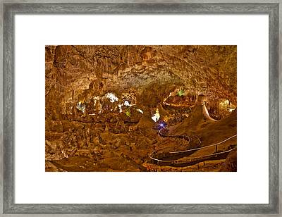 Carlsbad Caverns Big Room Framed Print