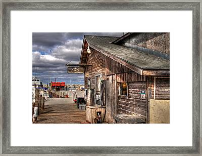 Carlson's Fisheries Framed Print
