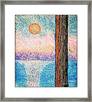 Carmel Highlands Sunset Framed Print