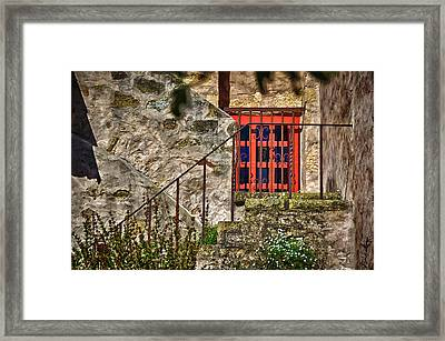 Carmel Mission 10 Framed Print