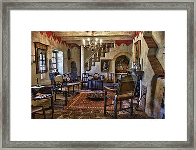 Carmel Mission 6 Framed Print by Ron White