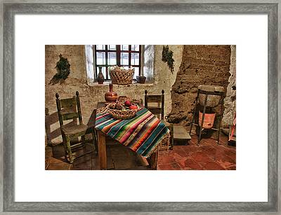Carmel Mission 7 Framed Print by Ron White