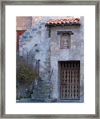 Carmel Mission Basilica Framed Print