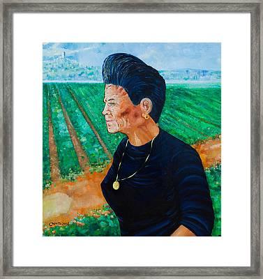 Carmela Framed Print