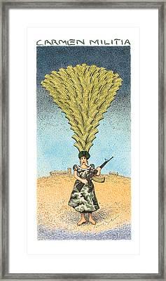 Carmen Militia Framed Print by John O'Brien