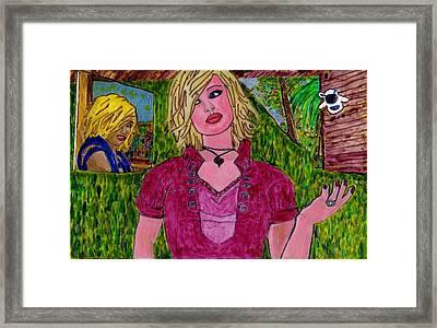 Carmen Says Framed Print by Phil Strang