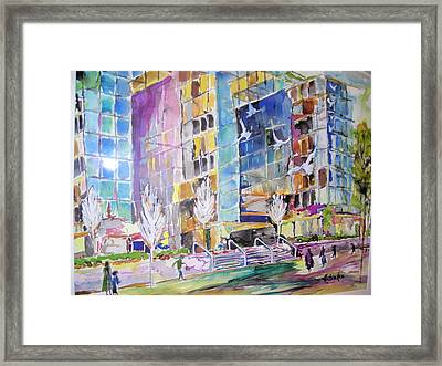 Carmike Plaza Framed Print