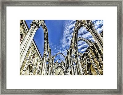 Carmo Convent Lisbon Framed Print
