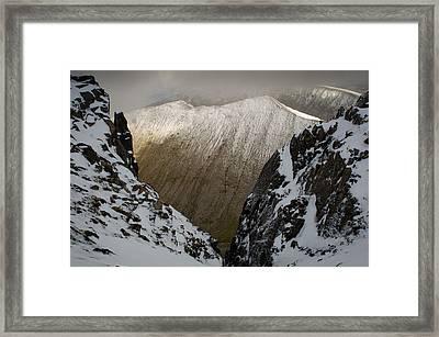 Carn Mor Dearg Framed Print