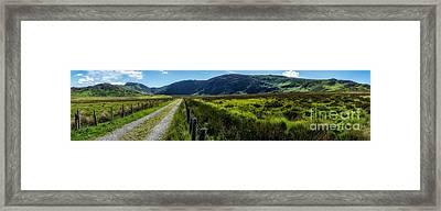 Carneddau Mountains  Framed Print by Adrian Evans