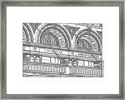 Carnegie Hall Framed Print