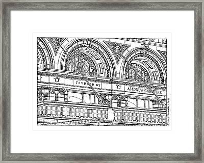Carnegie Hall Framed Print by Ira Shander