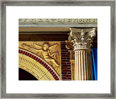 Carnegie's Gift Framed Print by Jon Exley