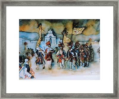 Carneval En Chiapas Framed Print