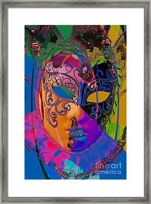 Carnevale Framed Print