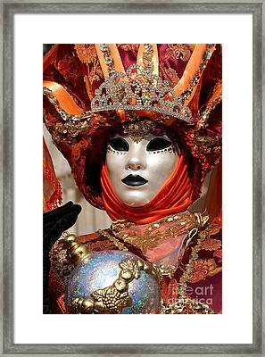Carnevale Di Venezia 54 Framed Print