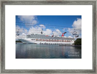 Carnival Conquest Framed Print by Rene Triay Photography