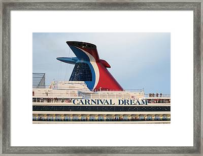 Carnival Dream Smokestack Framed Print