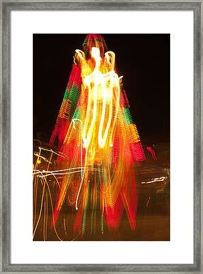 Framed Print featuring the photograph Carnival Guardian by Terri Harper