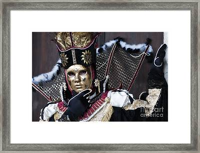 Carnival In Venice 13 Framed Print by Design Remix