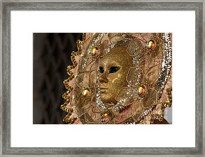Carnival In Venice 8 Framed Print by Design Remix