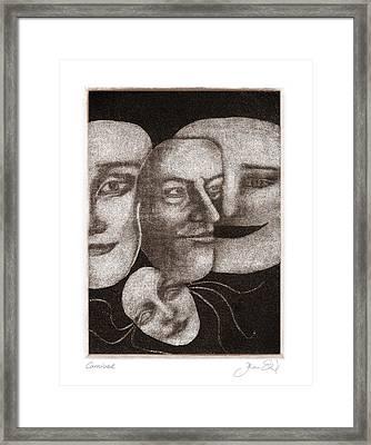 Carnival Framed Print by Joanne Ehrich