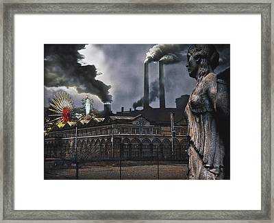Carnival Framed Print by Larry Butterworth
