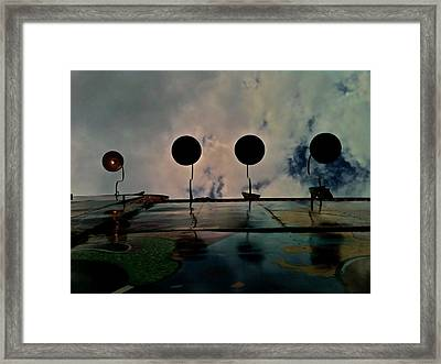 Carnival Light Framed Print