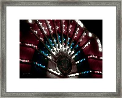 Carnival Lights Framed Print