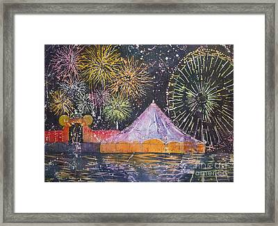 Carnival Magic Framed Print
