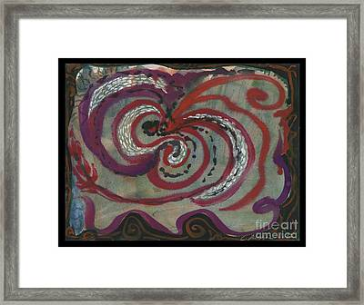 Carnival Magic Show  Framed Print by Cathy Peterson