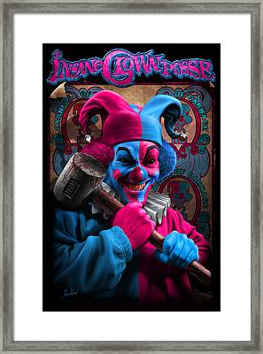 Carnival Of Carnage Dc Framed Print by Tom Wood