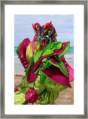 Carnival On The Beach Framed Print