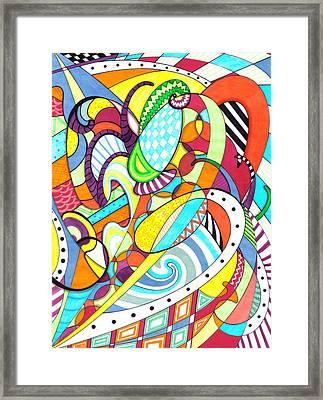 Carnival  Framed Print by Shawna Rowe