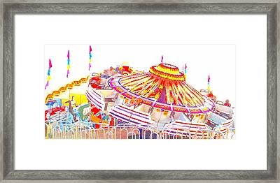 Framed Print featuring the photograph Carnival Sombrero by Marianne Dow