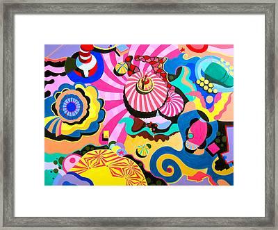 Carnival Framed Print by Toni Silber-Delerive