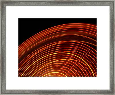 Carnival Trails II Framed Print by Kaleidoscopik Photography