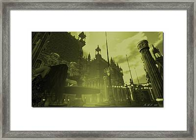Carnivale - After Absinthe Framed Print by Amanda Holmes Tzafrir