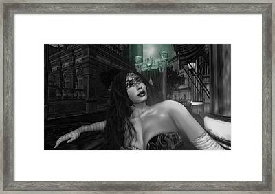 Carnivale - The Yearning Framed Print by Amanda Holmes Tzafrir