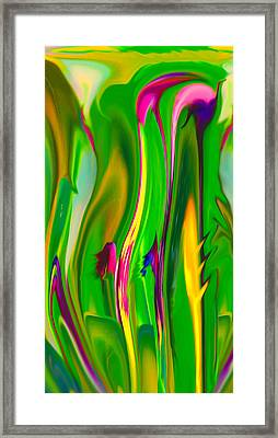 Carnivorous Framed Print by Betty Depee