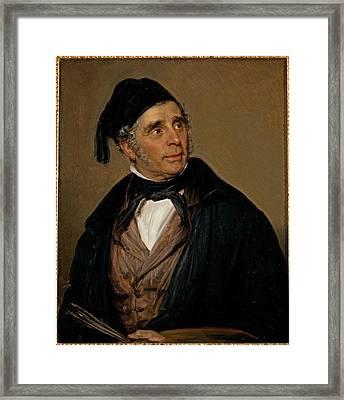 Carnovali Giovanni Know As Piccio Framed Print by Everett