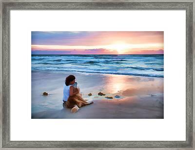 Caro Y Bella Framed Print by Alice Gipson