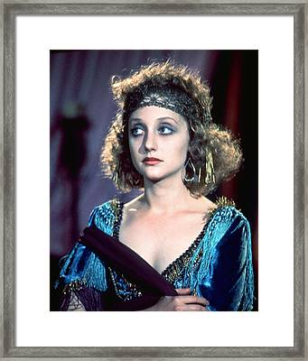 Carol Kane Framed Print by Silver Screen